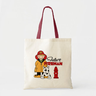 Les cadeaux des futurs de pompier enfants de sapeu sac en toile