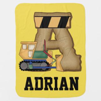 Les cadeaux personnalisés d'Adrian Couverture De Bébé
