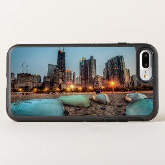 Les canoës sur la rue de chêne échouent après coque otterbox symmetry pour iPhone 7 plus