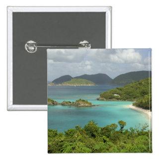 Les Caraïbe, États-Unis Îles Vierges, St John, tro Badge
