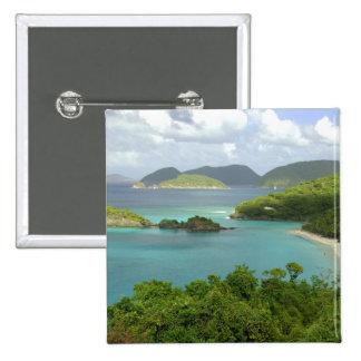 Les Caraïbe, États-Unis Îles Vierges, St John, tro Badges