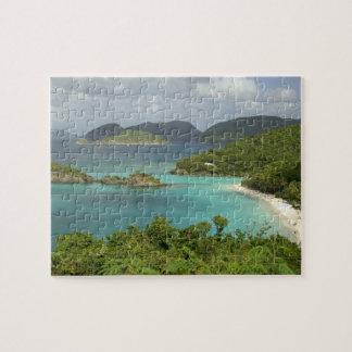 Les Caraïbe, États-Unis Îles Vierges, St John, tro Puzzle