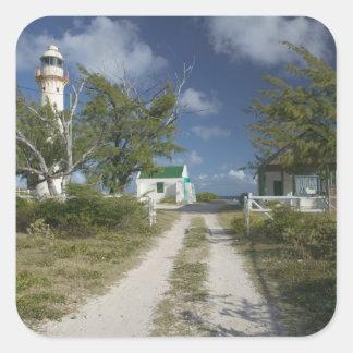 Les Caraïbe, TURCS et la CAÏQUES, île grande de Sticker Carré