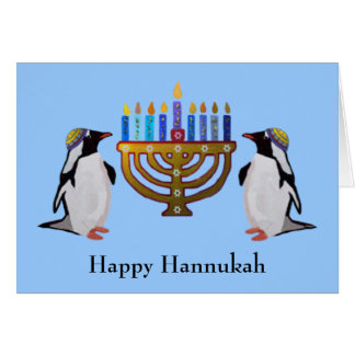 Les cartes choisies congelées de Hannukah