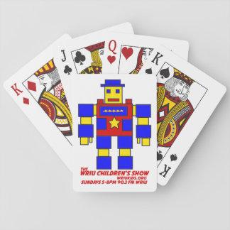 Les cartes de jeu de l'exposition des enfants de jeux de cartes