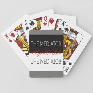 Les cartes de jeu de médiateur jeu de cartes