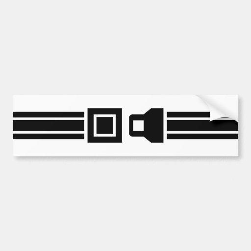 Les ceintures de sécurité Sauvent les vies Adhésif Pour Voiture