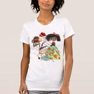 Les cerfs communs du pays des merveilles soutienne t-shirt