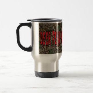 Les cerfs communs me craignent mug de voyage