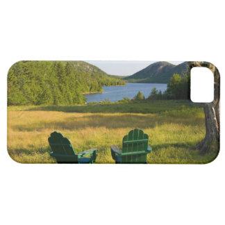 Les chaises d'Adirondack sur la pelouse de la Coques Case-Mate iPhone 5