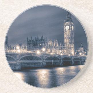 Les Chambres du Parlement, Westminster Londres Dessous De Verre