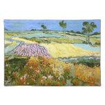 Les champs de blé de Van Gogh s'approchent d'Auver Sets De Table