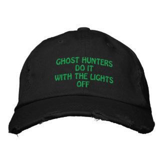 Les chasseurs de fantôme le font casquette brodée