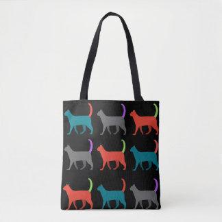 Les chats dans le sac !