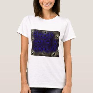 Les chats noirs sont frais t-shirt