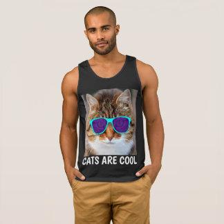 Les CHATS SONT COOL, T-shirts drôle de chat