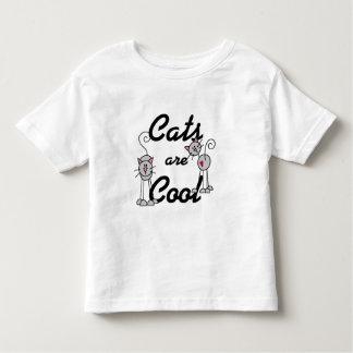 Les chats sont frais t-shirts