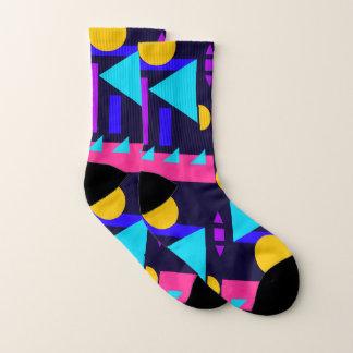 Les chaussettes le print 1 géométrique