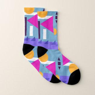 Les chaussettes le Print 3 géométrique