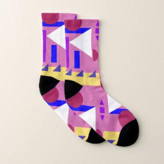 Les chaussettes le Print 4 géométrique