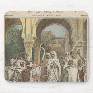 Les chefs de tribu jurant Fidelity au Tapis De Souris