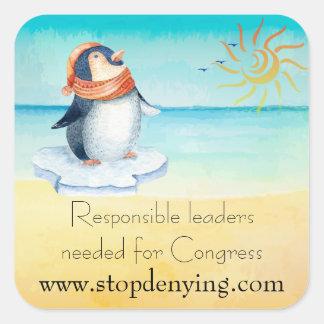 Les Chefs responsables requis pour le congrès Sticker Carré