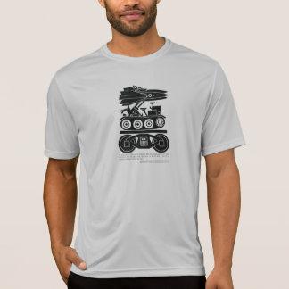 Les chemins de fer ont déplacé 90% de tout le fret t-shirt
