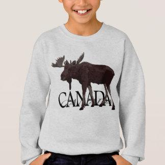 Les chemises d'orignaux du Canada badinent les Sweatshirt