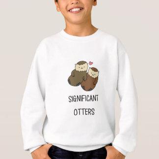 Les chemises du couple SIGNIFICATIF de LOUTRES, Sweatshirt