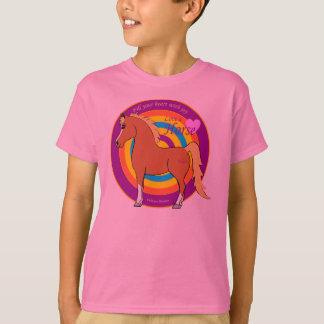 Les chevaux remplissent votre coeur de T-shirt