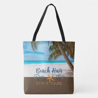 Les cheveux de plage ne s'inquiètent pas tote bag