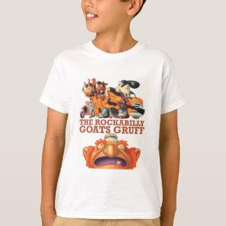 Les chèvres de rockabilly bourrues - chèvres et t-shirt