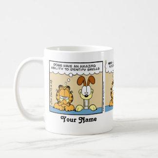 """Les """"chiens présentation horizontale sur microfilm mug"""