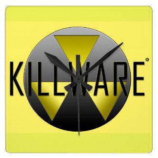 Les Chronicles de KillWare® Horloge Carrée