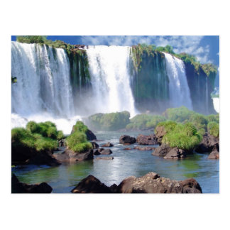 Les chutes d'Iguaçu Carte Postale