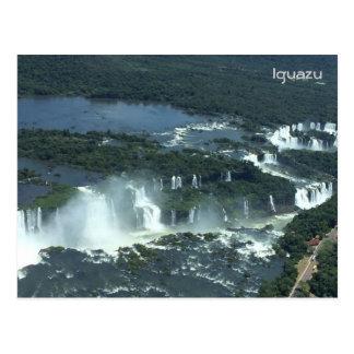 Les chutes d'Iguaçu - vue aérienne Carte Postale