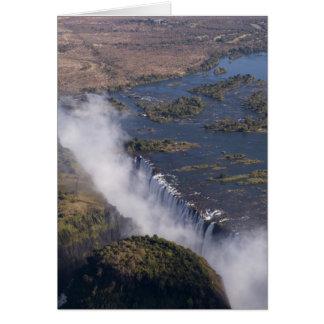 Les chutes Victoria, rivière de Zambesi, Zambie - Cartes