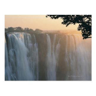Les chutes Victoria, Zimbabwe, Afrique Carte Postale