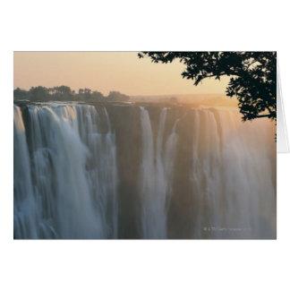 Les chutes Victoria, Zimbabwe, Afrique Cartes