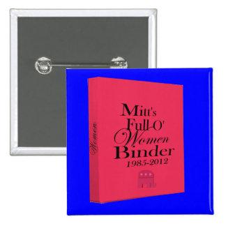 Les classeurs du gant complètement du classeur de  badge carré 5 cm