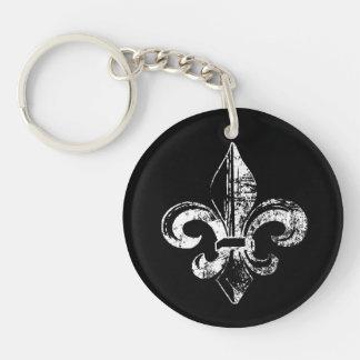 Les clés de Kingsley au royaume Porte-clé Rond En Acrylique Double Face