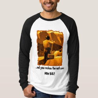 Les clous sont COMBIEN GRANDS ? T-shirts