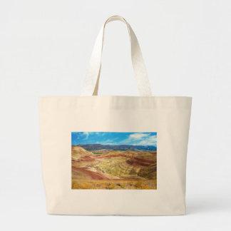 Les collines peintes colorées en Orégon oriental Grand Tote Bag