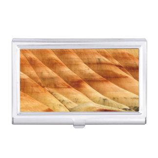 Les collines peintes dans les lits fossiles 2 de porte-cartes de visite