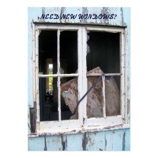 LES COMMERCES. NOUVEAU WINDOWS CARTE DE VISITE GRAND FORMAT