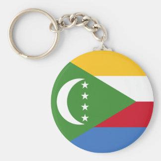 les Comores Porte-clé Rond
