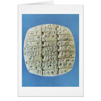 Les comptes ajournent avec le manuscrit carte de vœux