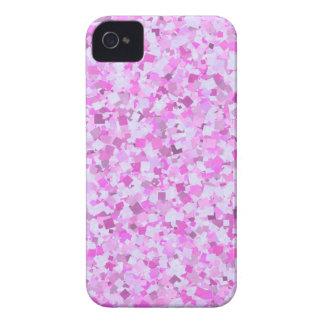 Les confettis roses de graffiti du modèle étuis iPhone 4