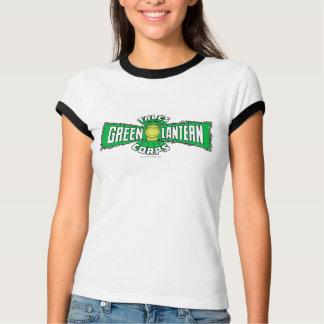 Les corps verts de lanterne - logo vert t-shirt