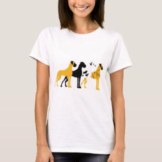 Les couleurs de base de Danois T-shirt